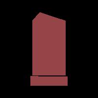 Фигурные вертикальные памятники