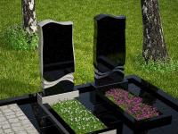 Гранитный памятник №1 (надгробие)