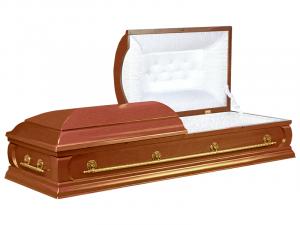 Купить лакированный гроб