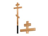 Крест дубовый без напыления 180 см
