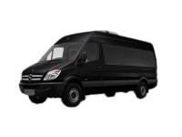 Ритуальный транспорт Mercedes-Benz черный