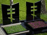 Памятник фигурный из гранита №98 110×100×8 см