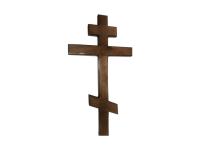 Крест дубовый с напылением 210 см