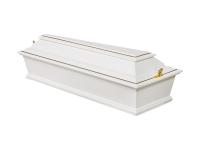 Гроб детский лакированный