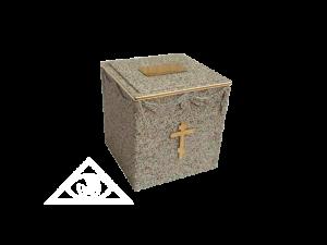 Урна с прахом в могилу